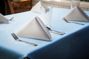 Tablecloth Wedgewood Blue